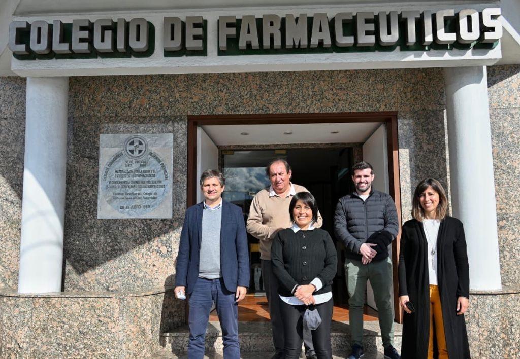 Concejales del Frente de Todos mostraron su apoyo al sector farmacéutico