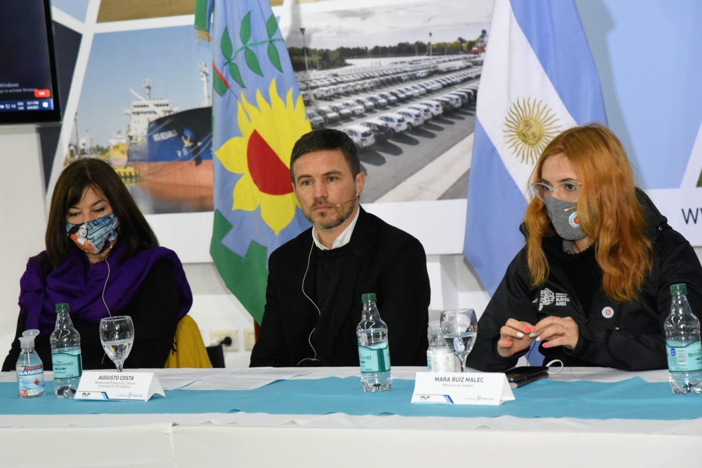 La provincia de Buenos Aires presentó el primer relevamiento de géneros en el ámbito portuario