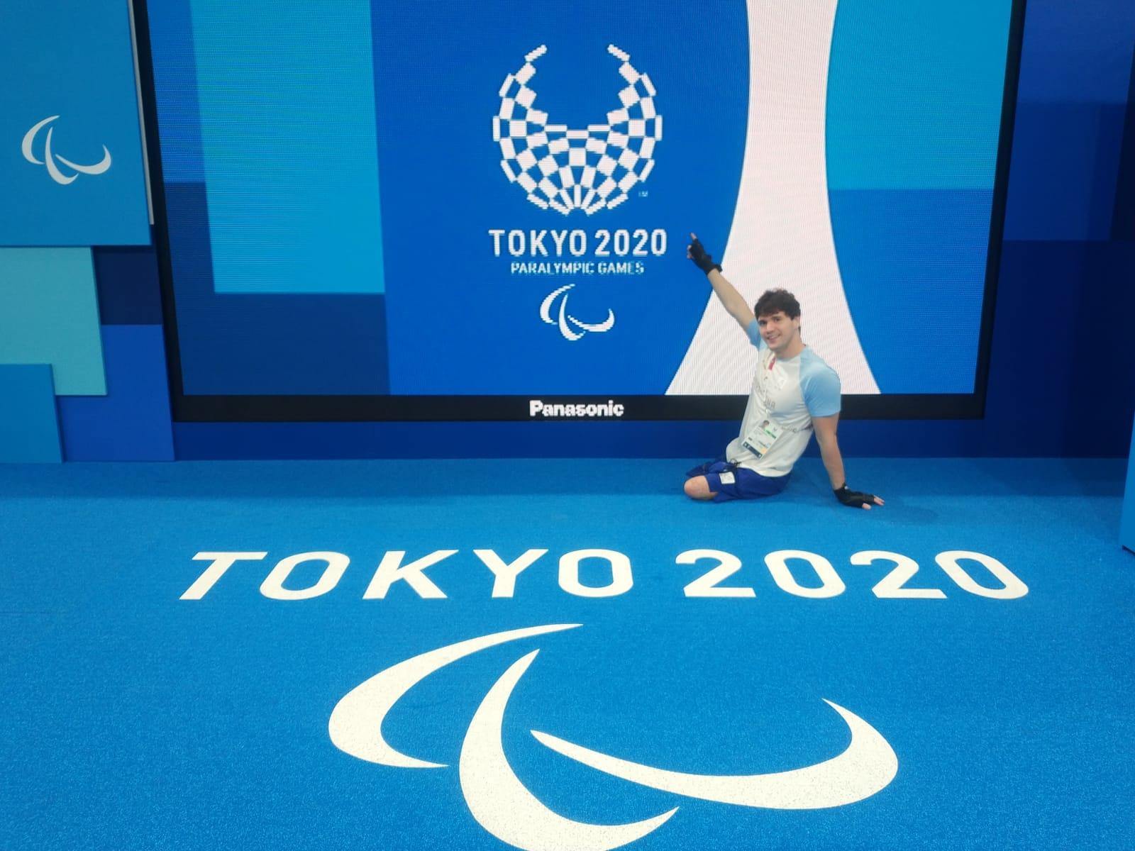De Andrade se mete en final de los 100 metros espalda de los Juegos Paralímpicos