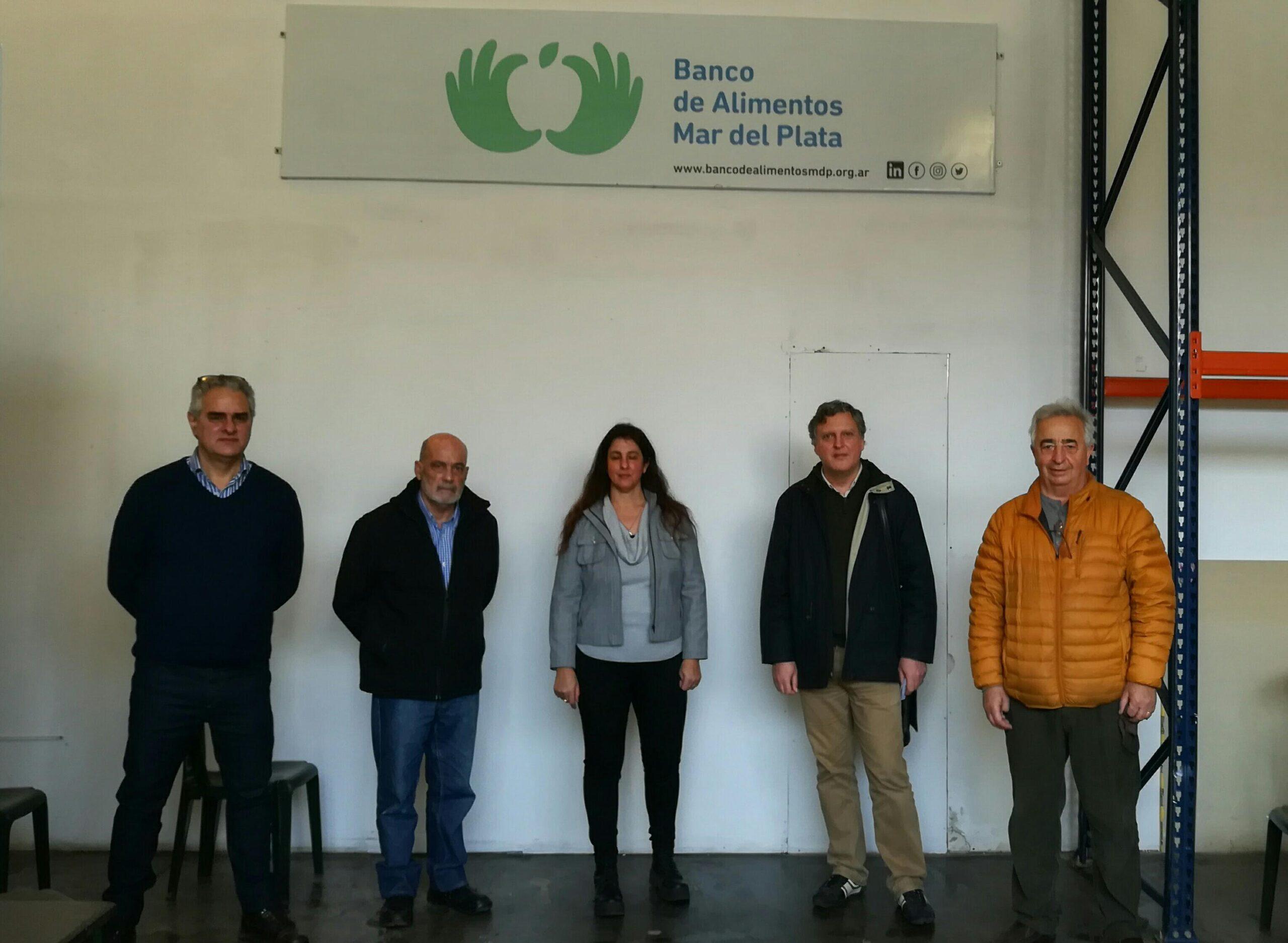 Defensores del Pueblo visitaron el Banco de Alimentos de Mar del Plata