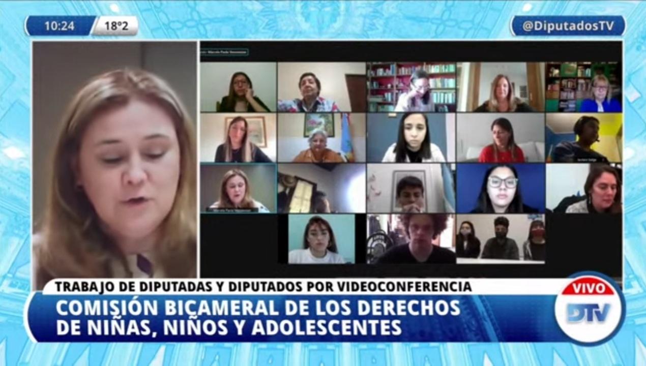 Diputados analiza la situación de los adolescentes en pandemia