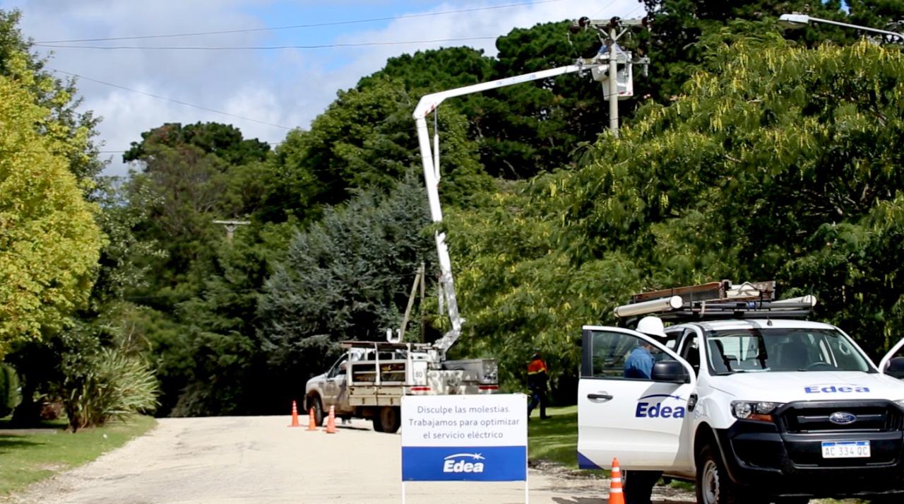 Mejoras en la red eléctrica en Mar del Plata