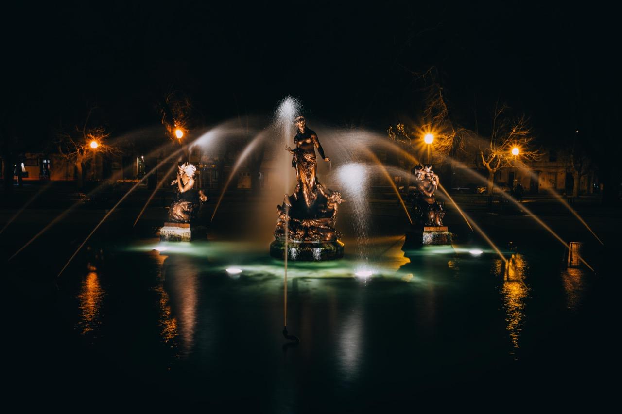 Finalizaron los trabajos en la Fuente de Plaza Rocha