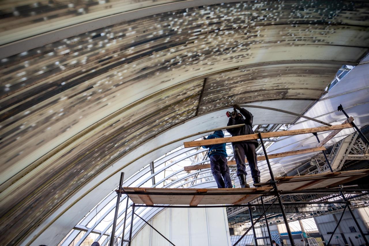 Avanzan las obras en el Natatorio Municipal y podría reabrir en setiembre