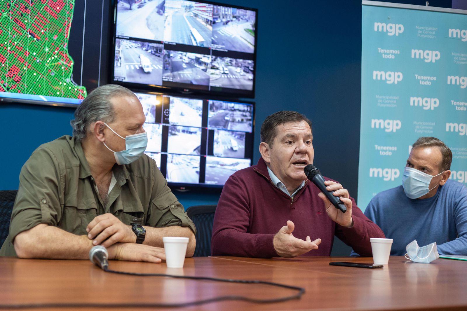 Berni y Montenegro presentaron sistema de georreferenciación de patrulleros