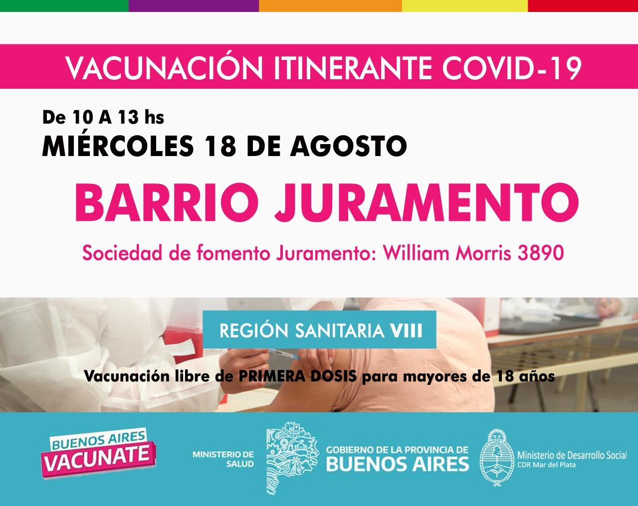 Más de 2 mil adolescentes con comorbilidades se vacunaron contra Covid en Mar del Plata