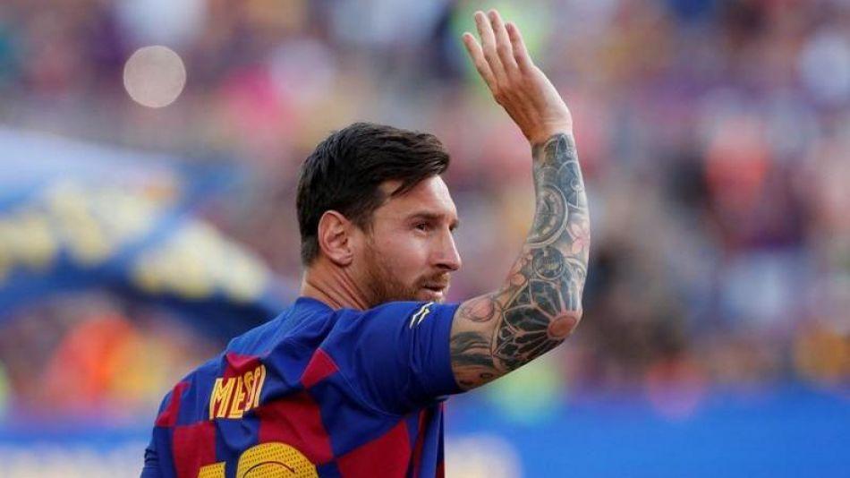 Lionel Messi y su salida de Barcelona.