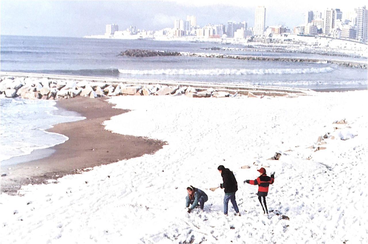 A 30 años de la gran nevada en Mar del Plata