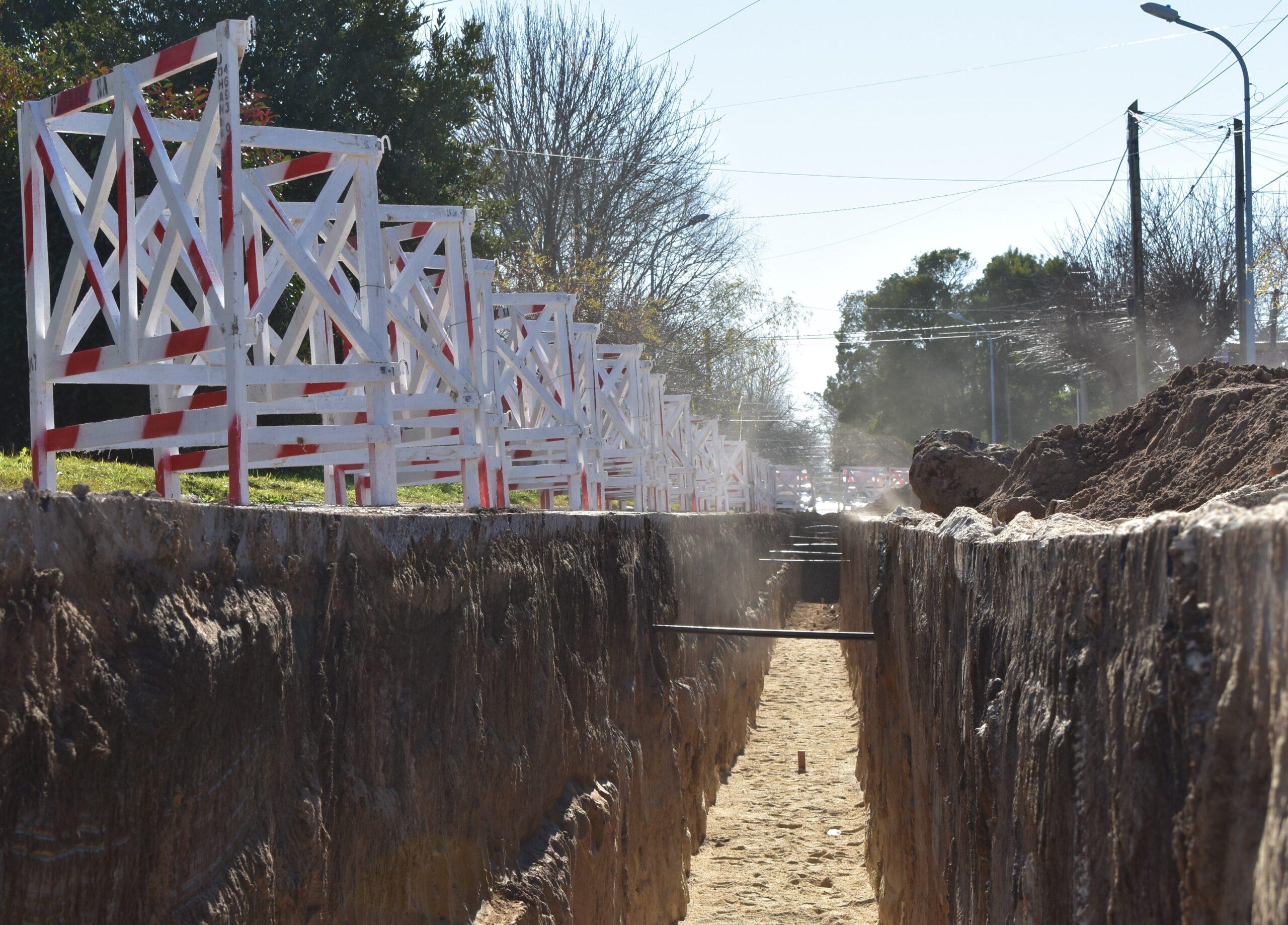 Obras Sanitarias trabaja en Zona Norte para potenciar el servicio de agua