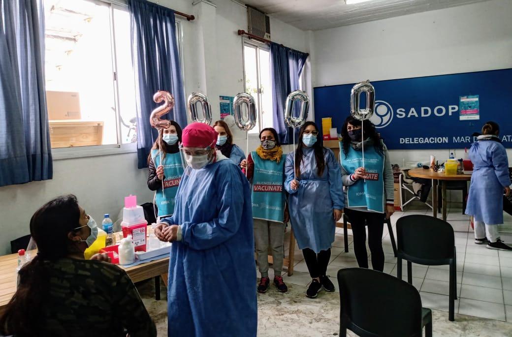 En el vacunatorio de SADOP alcanzaron las 20 mil dosis aplicadas