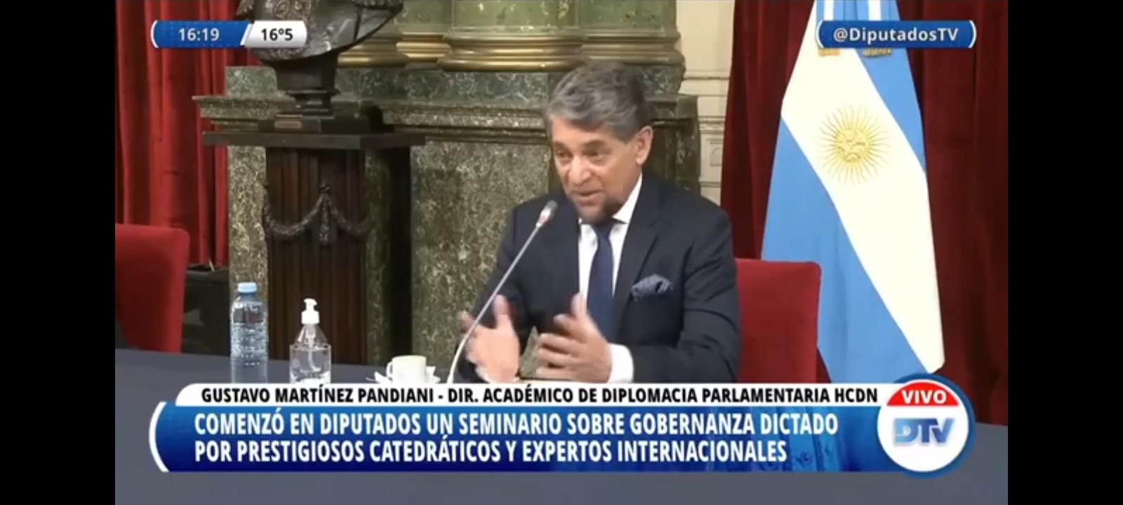 Diputados impulsa su primer seminario internacional de gobernabilidad y democracia
