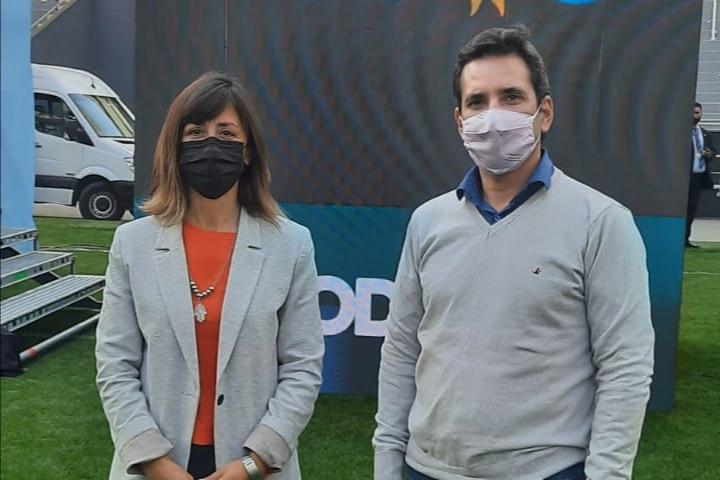 Los precandidatos Sívori y Obeid estuvieron junto a Victoria Tolosa Paz en el Plenario del Frente de Todos