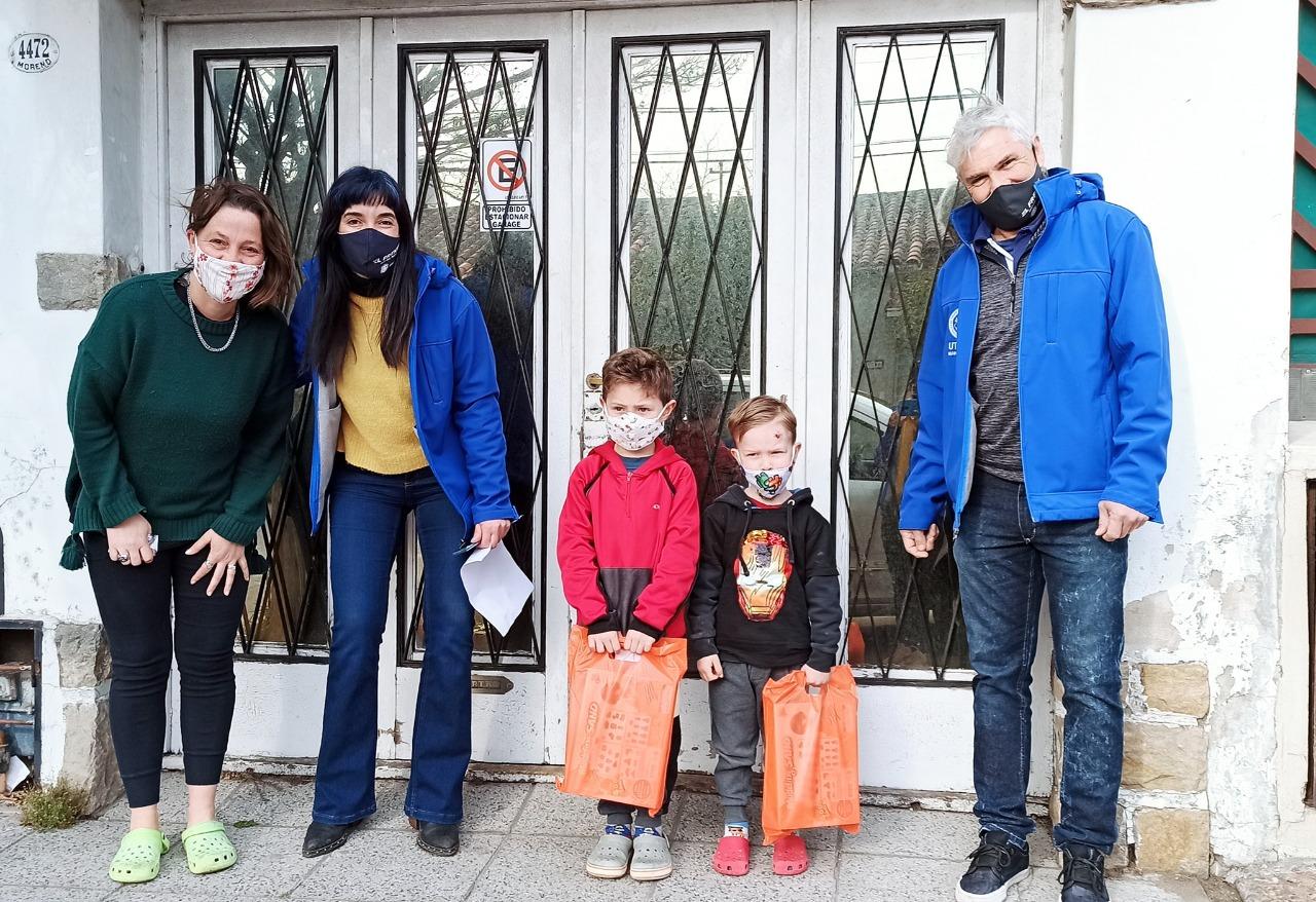 """Utedyc: Día de la Niñez """"puerta a puerta"""""""