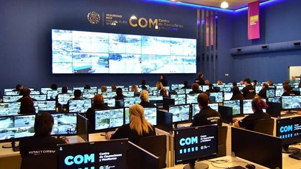 Reclaman por el funcionamiento de las cámaras de seguridad en Mar del Plata