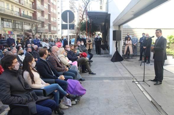 """Quedó inaugurado el anexo""""Dr. Juan Carlos París"""" del Colegio de Abogados Mar del Plata"""