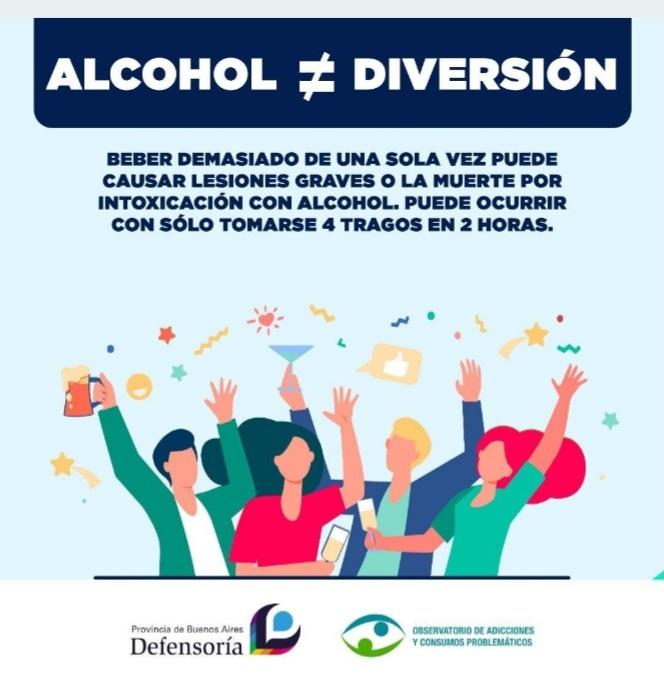 Día del Estudiante: buscan prevenir el consumo de alcohol