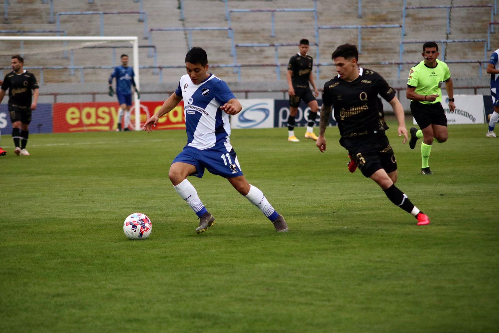 Quilmes logró un importante triunfo en Mar del Plata ante Alvarado