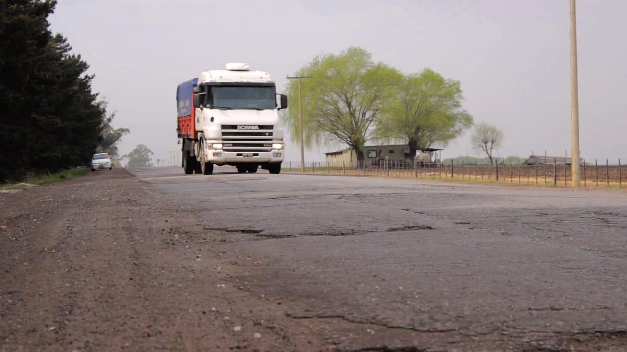 Destinarán 300 millones de pesos para repavimentar el camino que une la ruta 88 con la 226