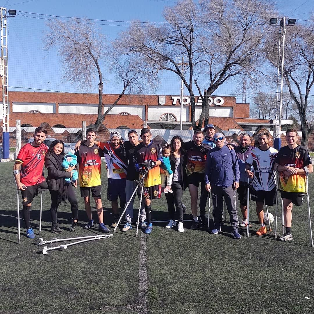 Vuelve el deporte adaptado a Mar del Plata con la Liga Nacional de Fútbol de Amputados