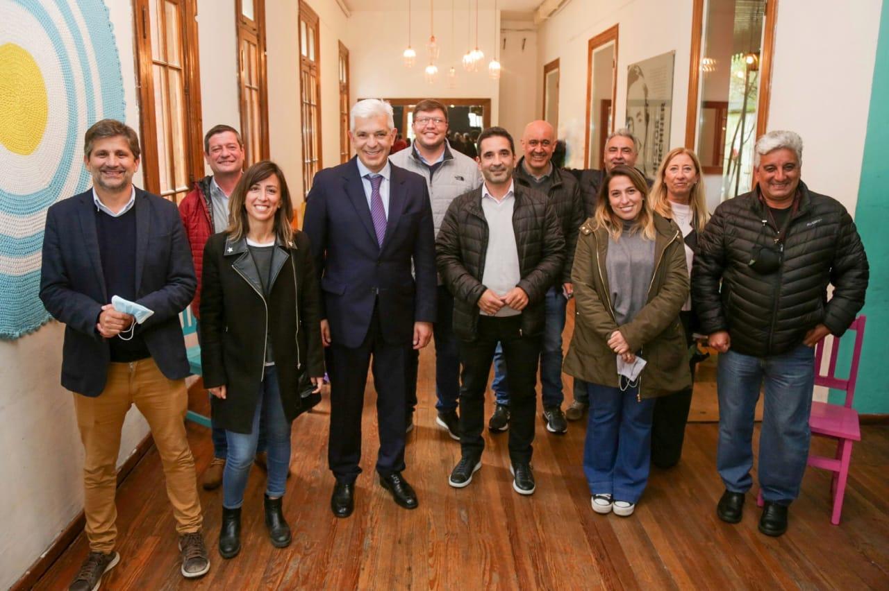 Julián Domínguez se reunió con los candidatos del Frente de Todos