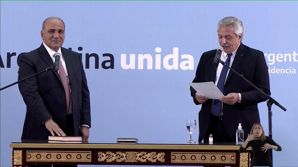 Asumieron los nuevos ministros y el Gobierno reafirma su compromiso con la reactivación económica