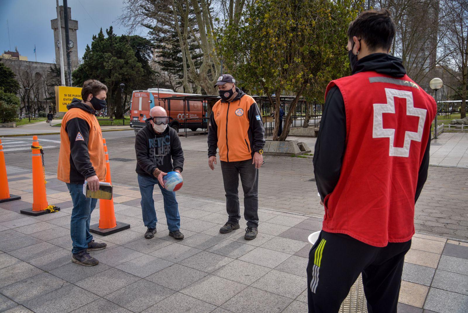 Defensa Civil y Cruz Roja realizan jornadas de concientización vial
