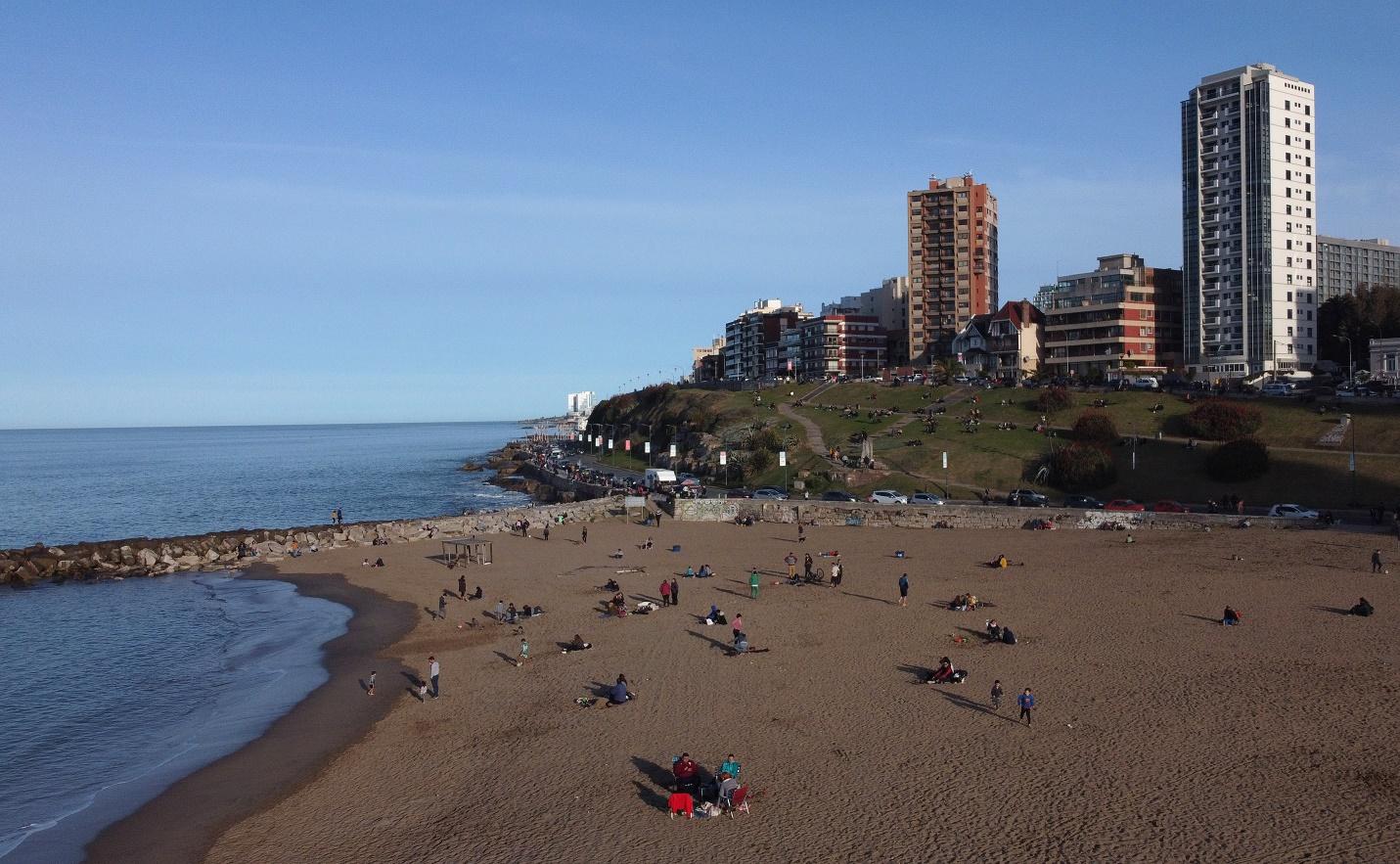 La situación epidemiológica en Mar del Plata sigue siendo alentadora