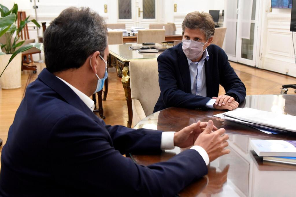 Ciano destacó el proyecto que impulsa más medidas de Alivio Fiscal