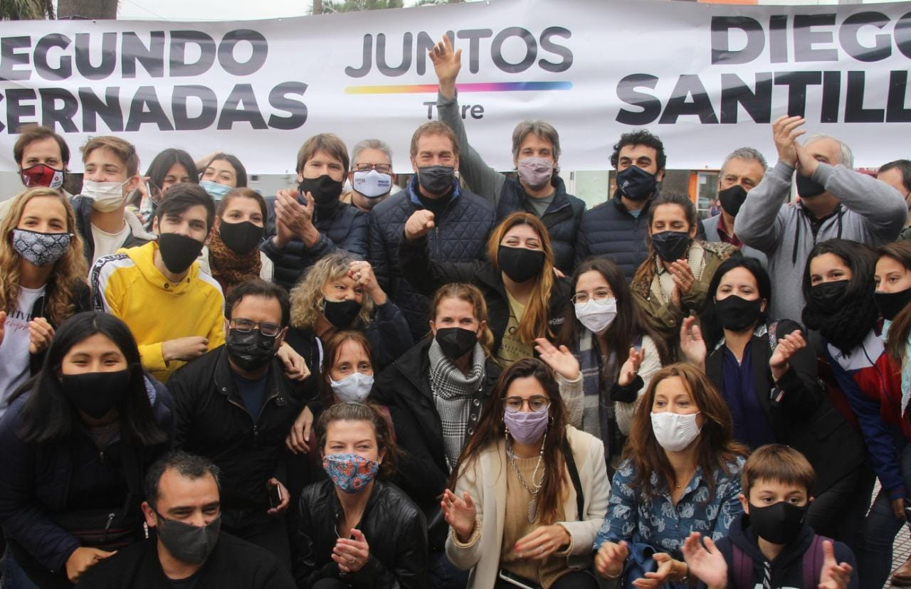 """Santilli: """"Quedó claro este domingo que hay esperanza y futuro en la provincia y en la Argentina"""""""