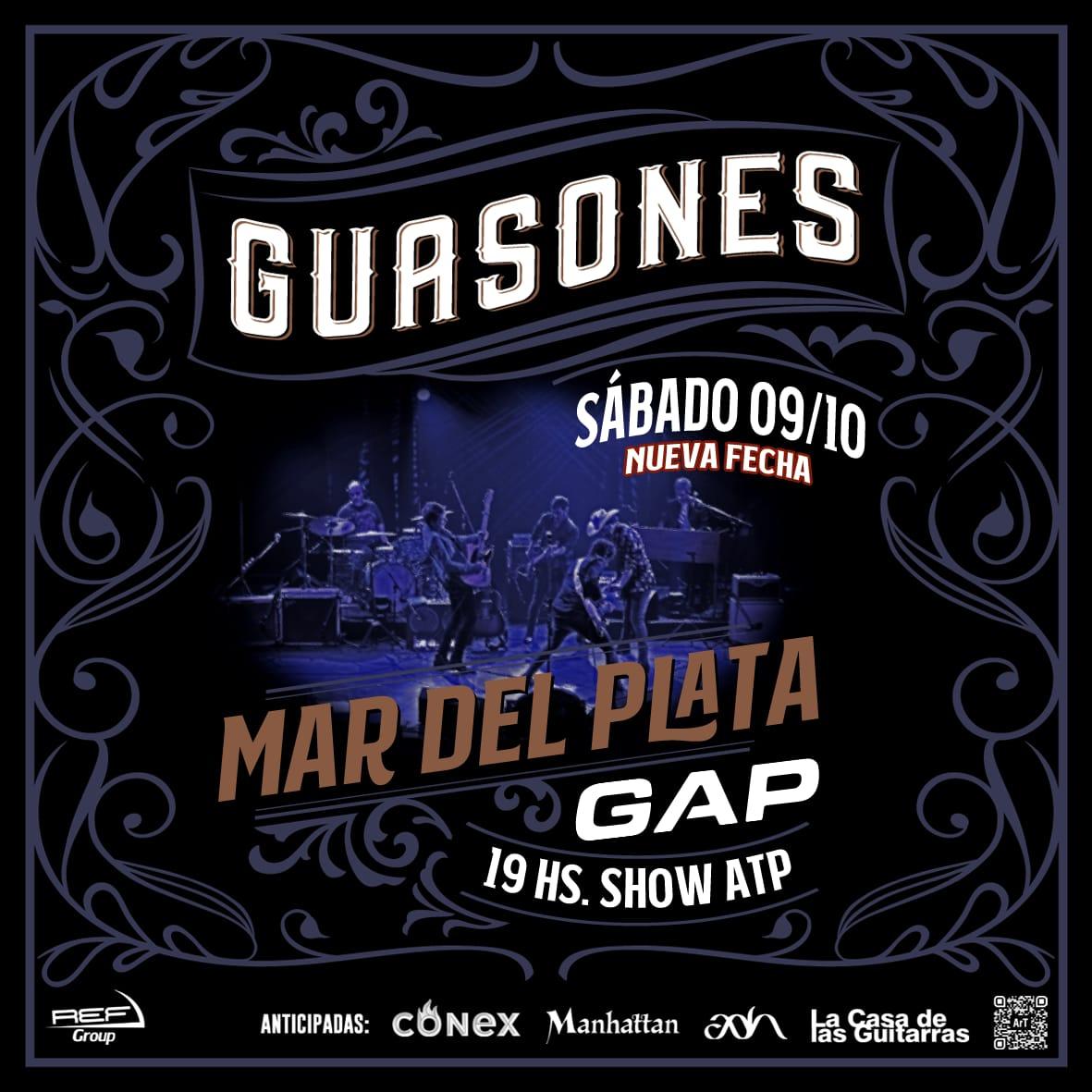 ¡Guasones agrega nueva fecha en Mar del Plata!