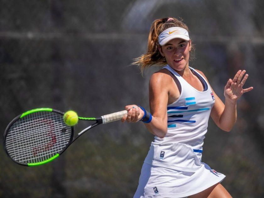 La marplatense Sierra avanza a octavos en el cuadro Junior del US Open
