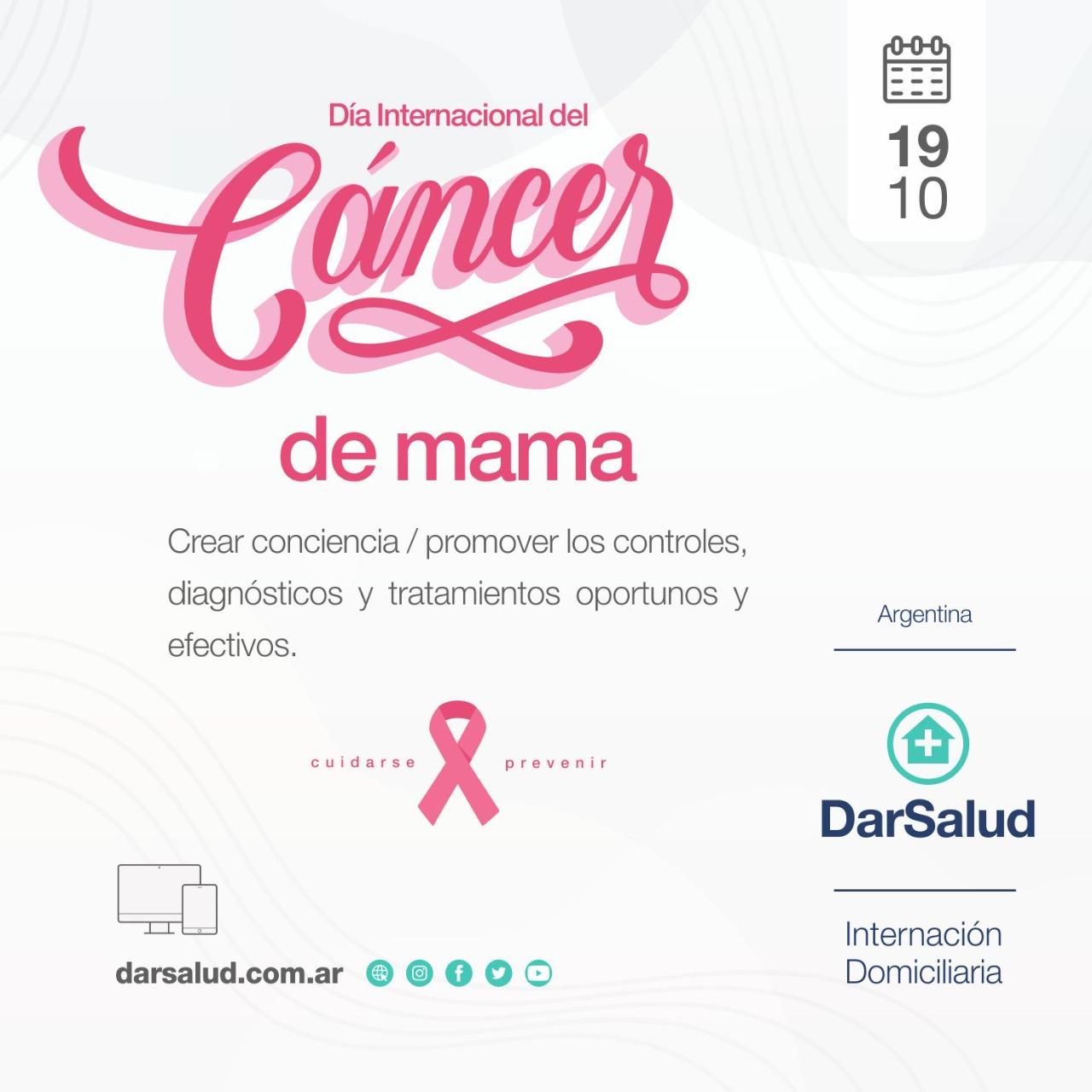 Cáncer de Mama: La importancia de la detección precoz para poder superar la enfermedad
