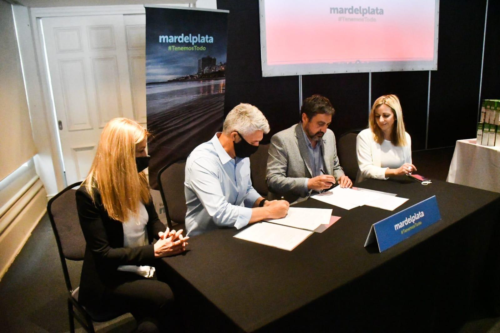 Rosario y Mar del Plata establecieron un convenio de colaboración turística