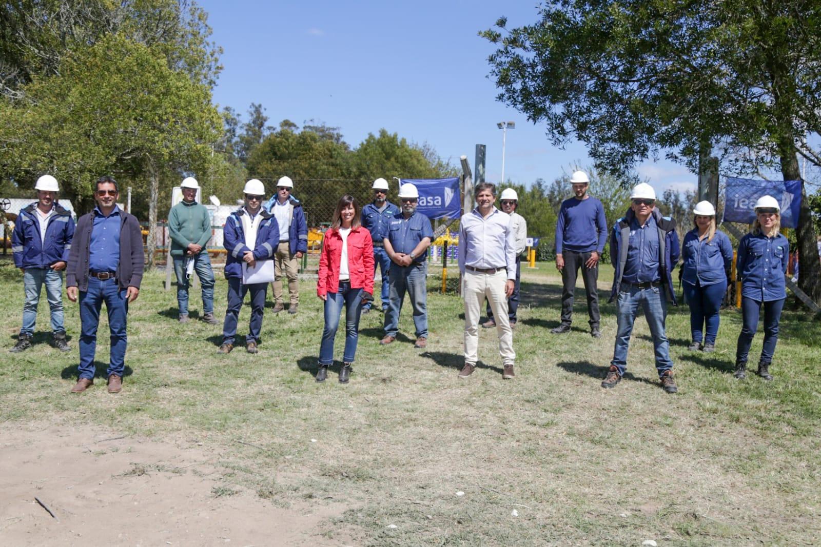 Anuncian la habilitación del primer tramo del Gasoducto de la Costa en Mar del Plata