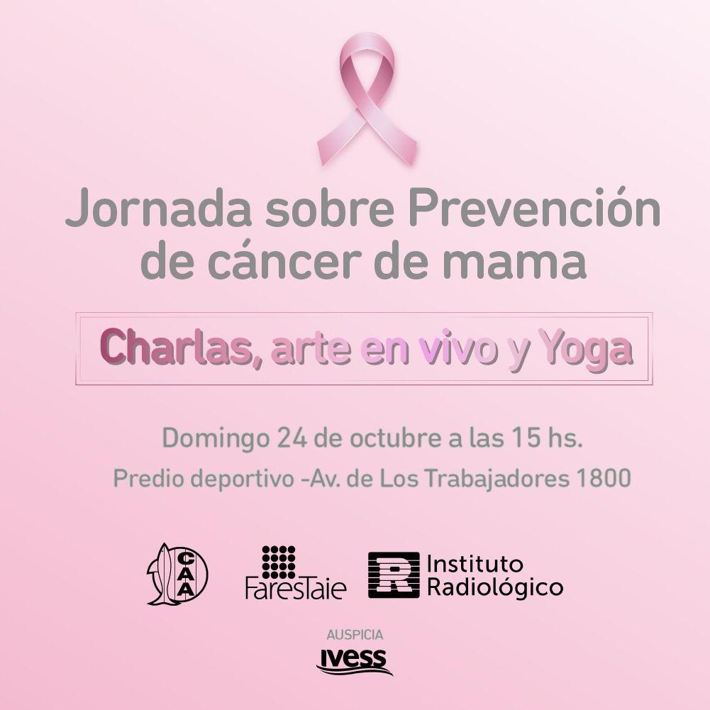 Jornada de concientización sobre Prevención del Cáncer de Mama
