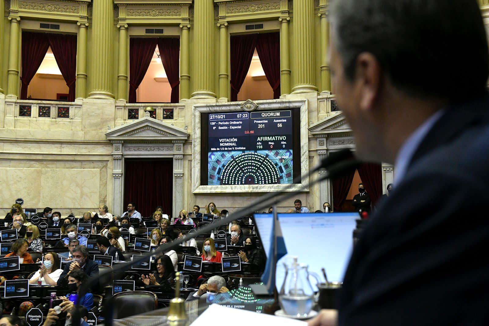 Por unanimidad, Diputados aprobó el proyecto de Massa que impulsa Alivio Fiscal